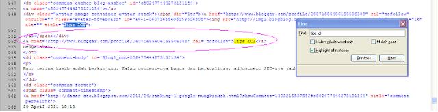 Backlink yang Berkualitas - Cara Mengetahui Halaman Situs yang Dofollow