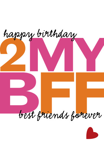 Birthday Wishes For Bff Images ~ Happy birthday bff quotes quotesgram