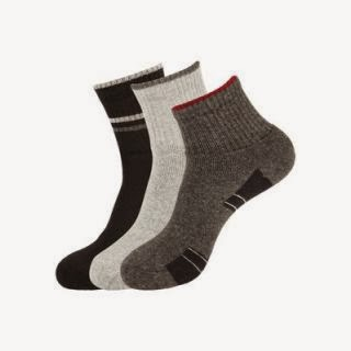 Buy Sports Socks – Pack of 3 At Rs.63 : Buy To Earn