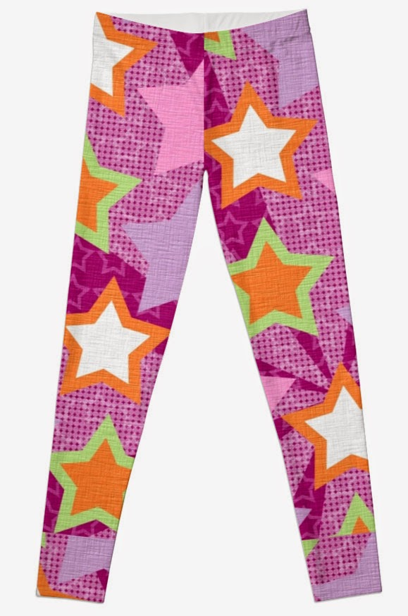 http://www.redbubble.com/people/kjscreations/works/14598874-purple-green-and-orange-star-abstract-artwork?p=leggings