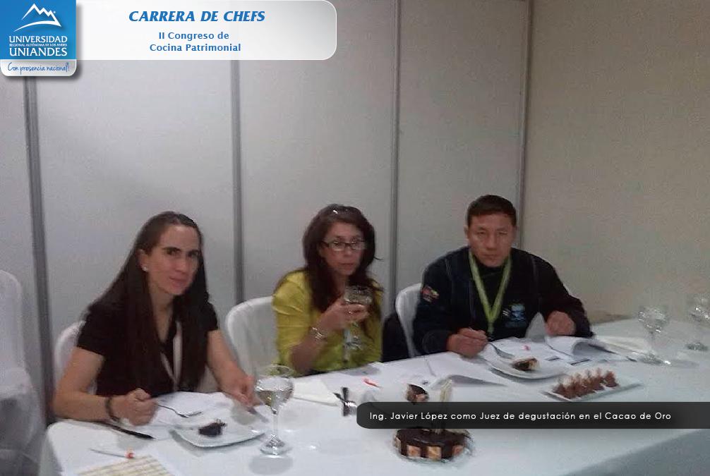 Carrera de chefs participaci n en ii congreso de cocina - Carrera de cocina ...