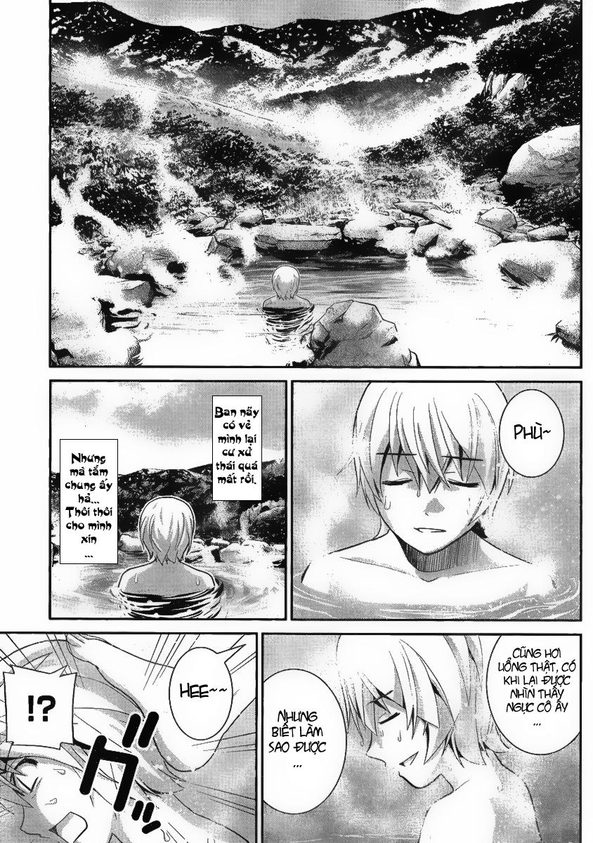 Truyện tranh Gokukoku no Brynhildr chap 12 trang 9