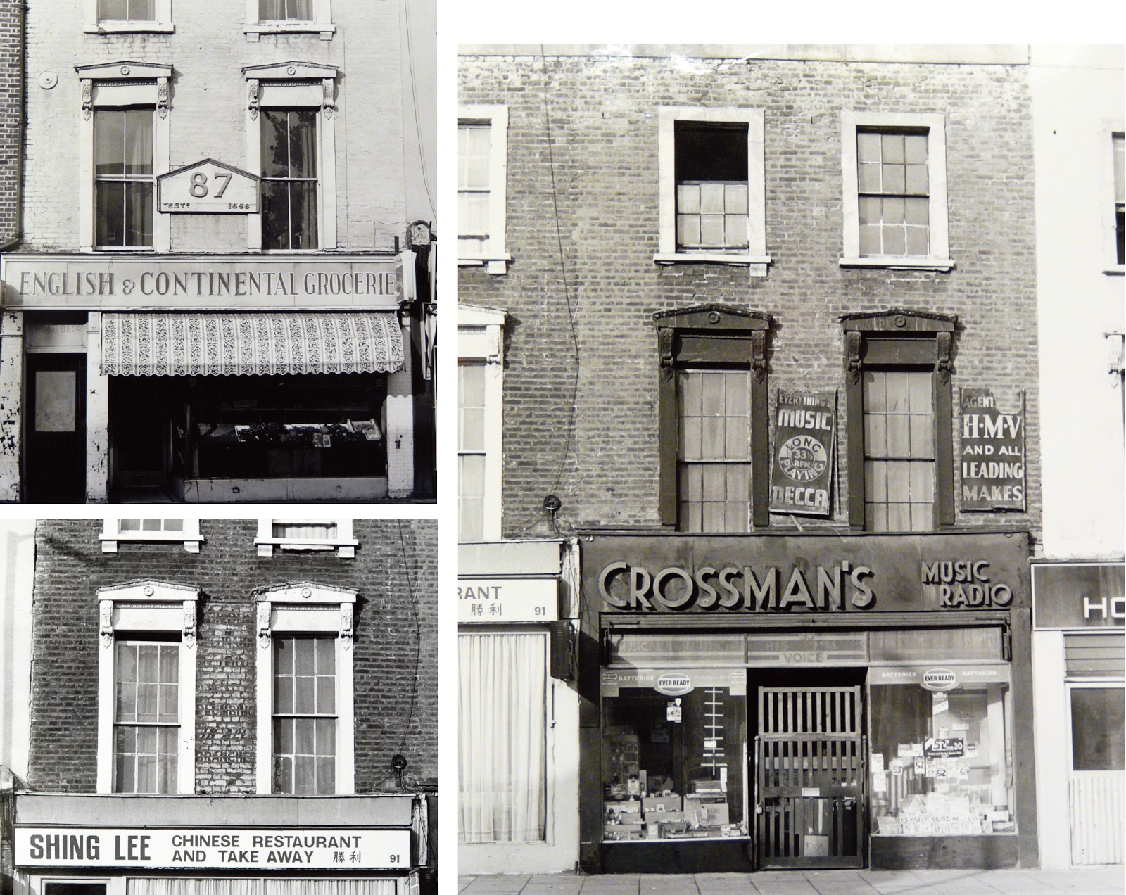 Jane\'s London: Holloway Road then and now (2)