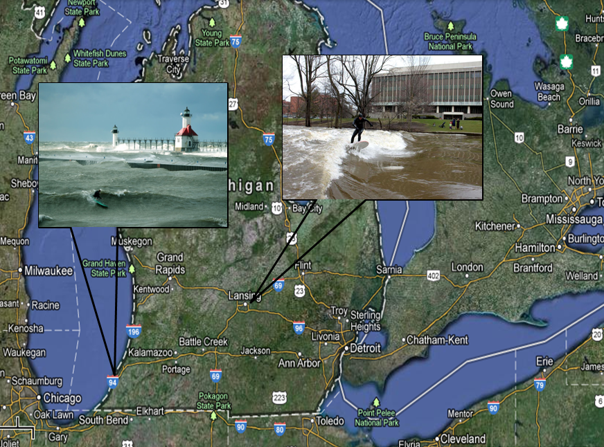 how to find true north on google earth