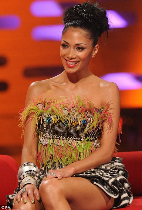 'I only found out I was replacing Cheryl Cole when I read the papers', admits new X Factor USA judge Nicole Scherzinger