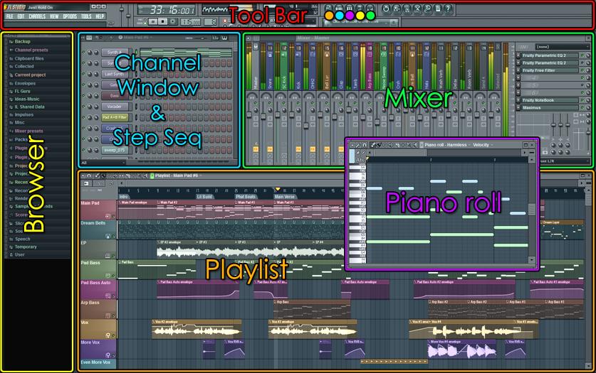 Скачать FL Studio 8 XXL + patch + руссификатор (2008) .