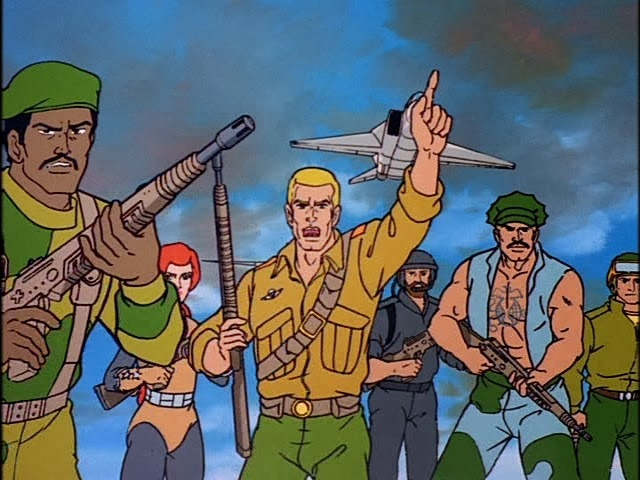 gi joe cartoon half the battle
