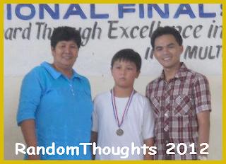 David Antonio Baga, 3rd place, MTAP-Math Challenge Regional Finals