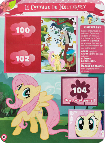 "Sticker Album Panini ""Explore Equestria"" My Little Pony"
