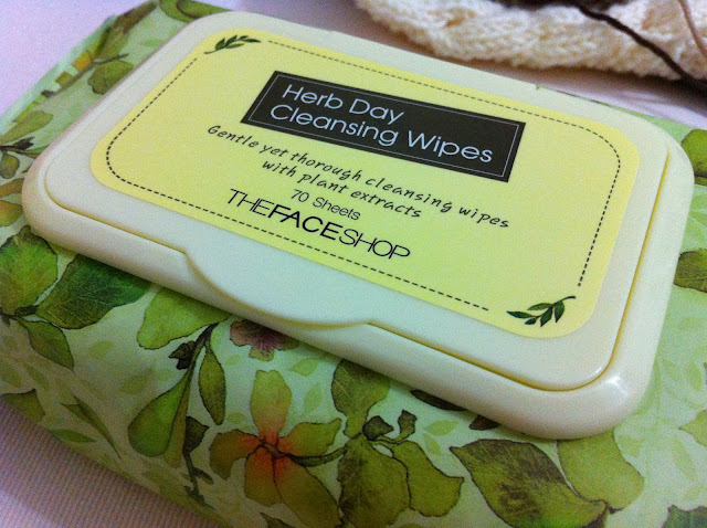 FaceShop Herb Day Cleansing Wipes