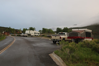 Colorado, camping, blue mesa reservoir, suzannebastien, lake fork campground, space 20