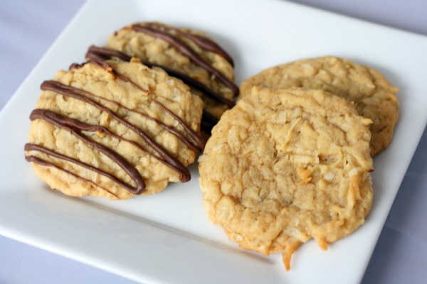 cookies chewy coconut cookies these cookies spread out a ton gotta ...
