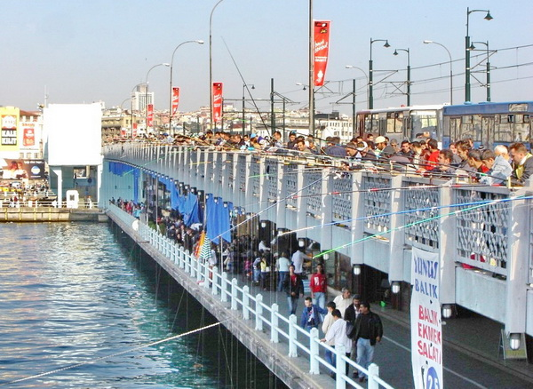Jembatan Galata Bridge Istanbul