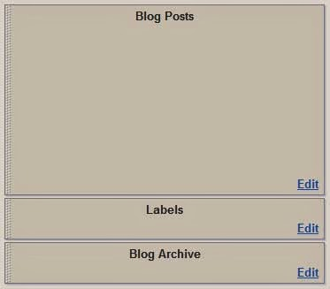 Separate Label Or Archive Page On Blogger