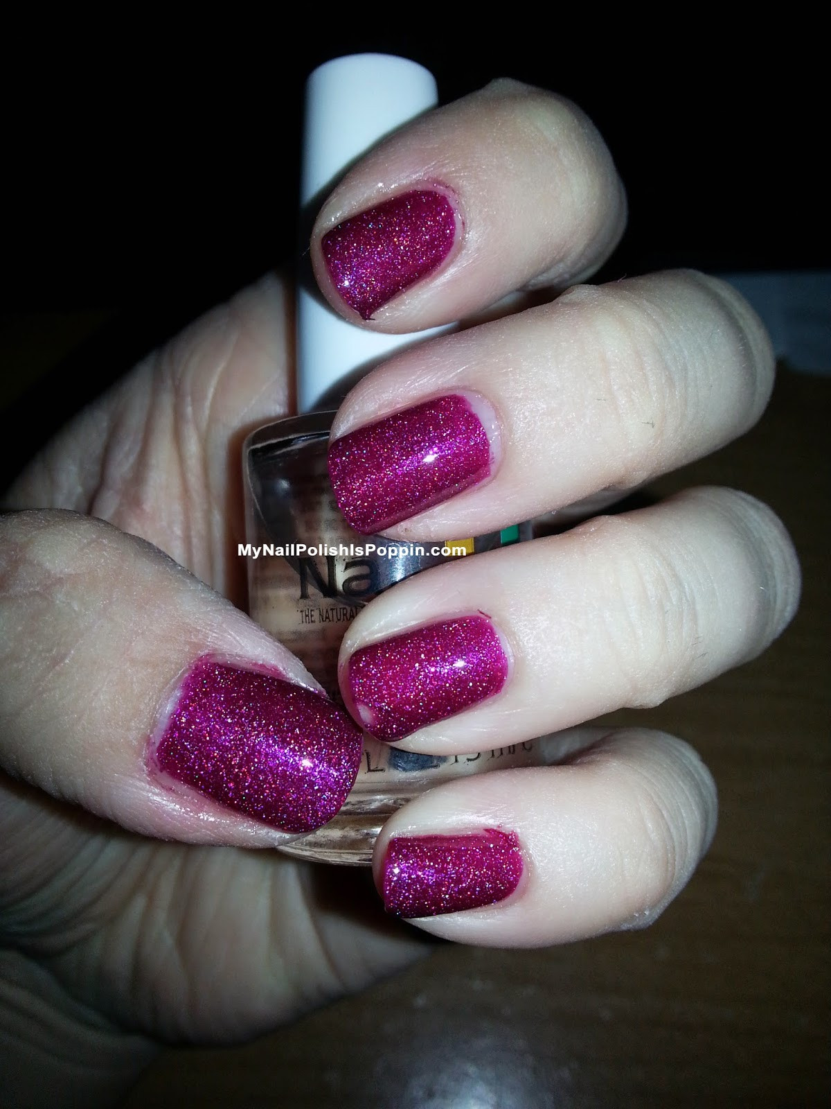 Orly Color Blast Magenta Gloss Glitter
