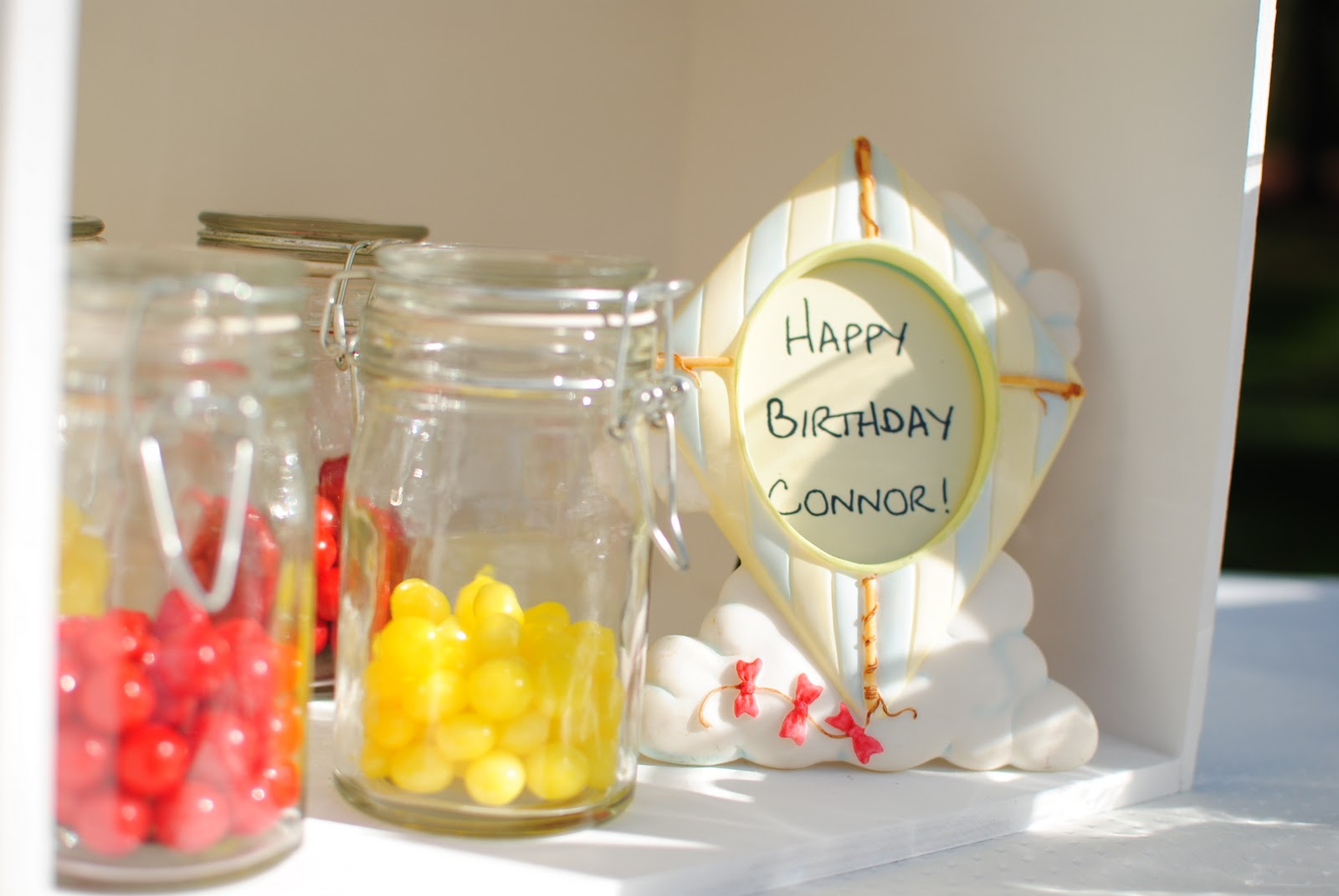 Clear Party Favor Boxes Michaels : Kara s party ideas kite themed nd birthday