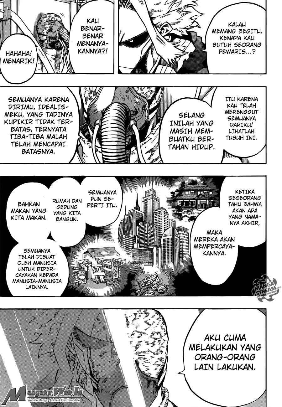 Boku no Hero Academia Chapter 116-7