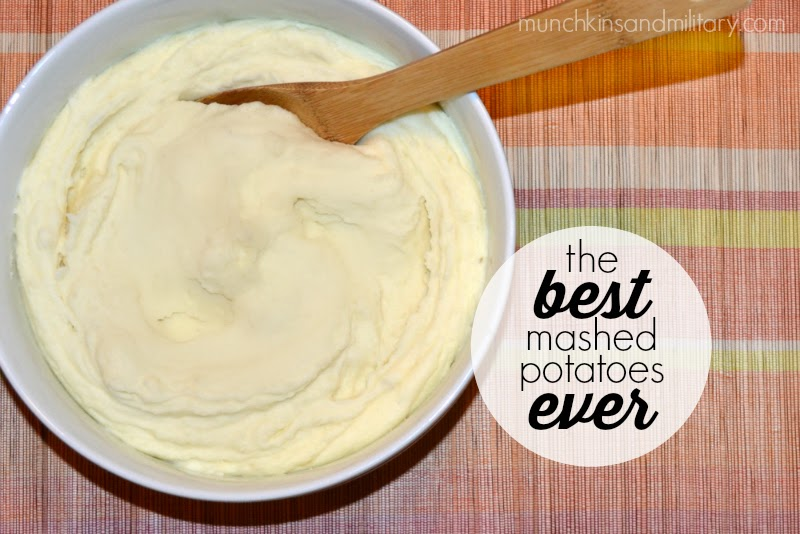 The Best Mashed Potatoes Ever | Munchkins and the Military | Bloglovin ...