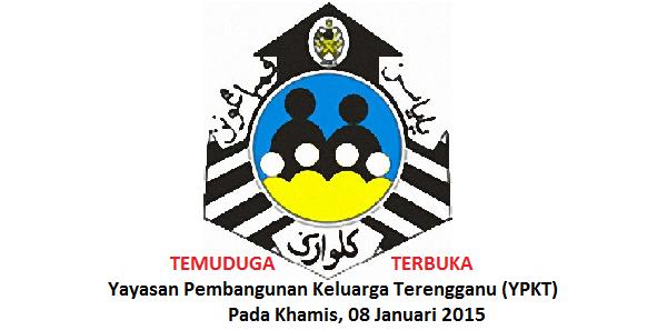 Jawatan Kerja Kosong Yayasan Pembangunan Keluarga Terengganu (YPKT) logo www.ohjob.info januari 2015