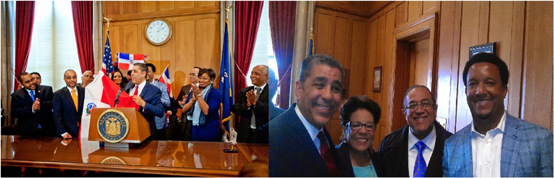 Pedro Martínez reafirma orgullo dominicano al recibir Premio a la Excelencia Oscar de la Renta
