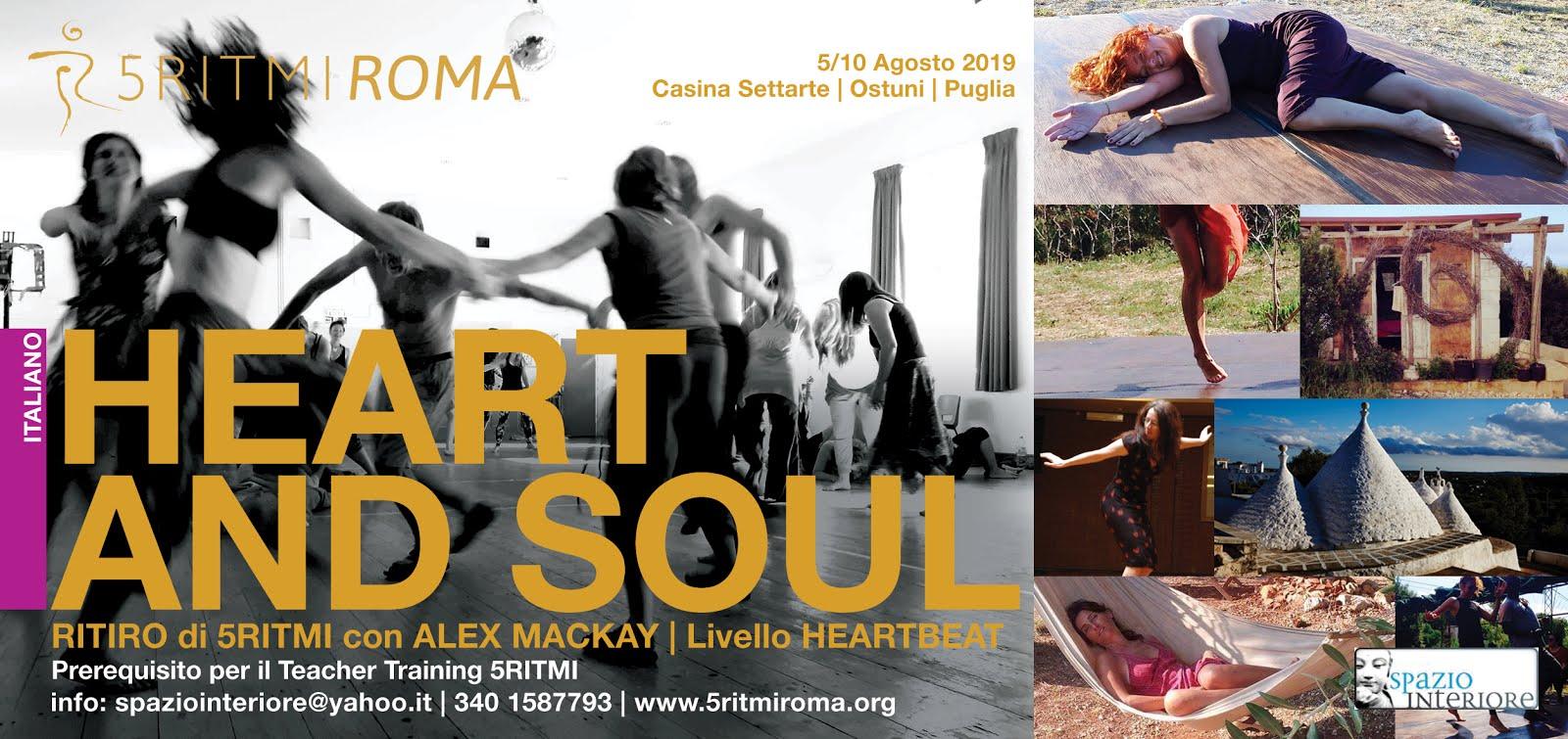 HEART and SOUL : 5 giorni di Heartbeat in Puglia