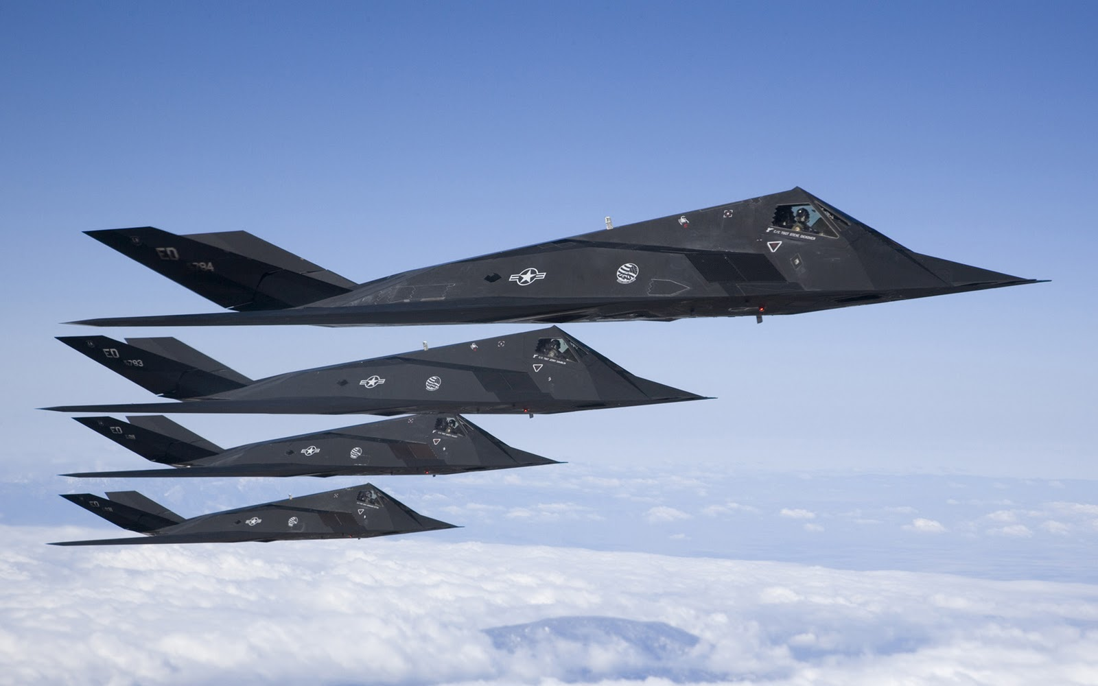 Aviones F-117