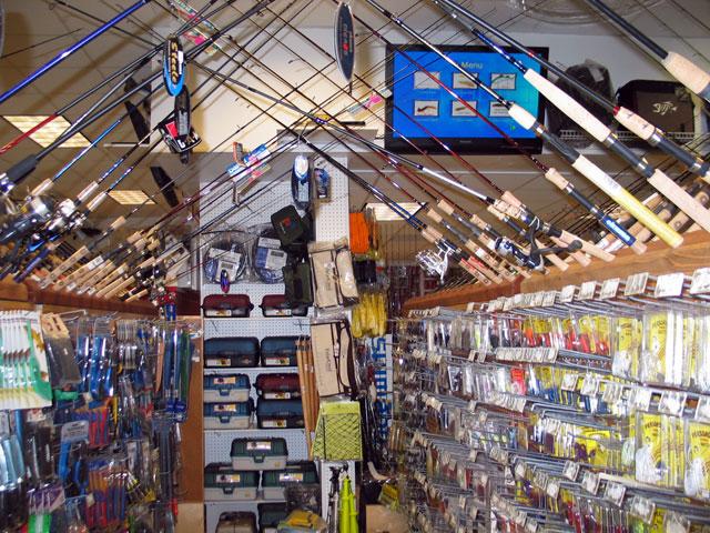 Exekom fishing store for Fishing supply store