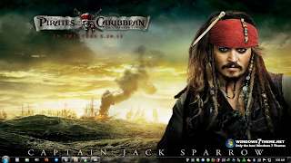 download theme the pirates of caribbean 4 for windows 7