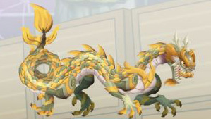 imagen del dragon marfil