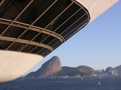 Niemeyer Museum, modern architecture Rio de Janeiro