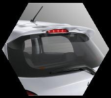 Rear Spoiler Mitsubishi Mirage Pekanbaru Riau