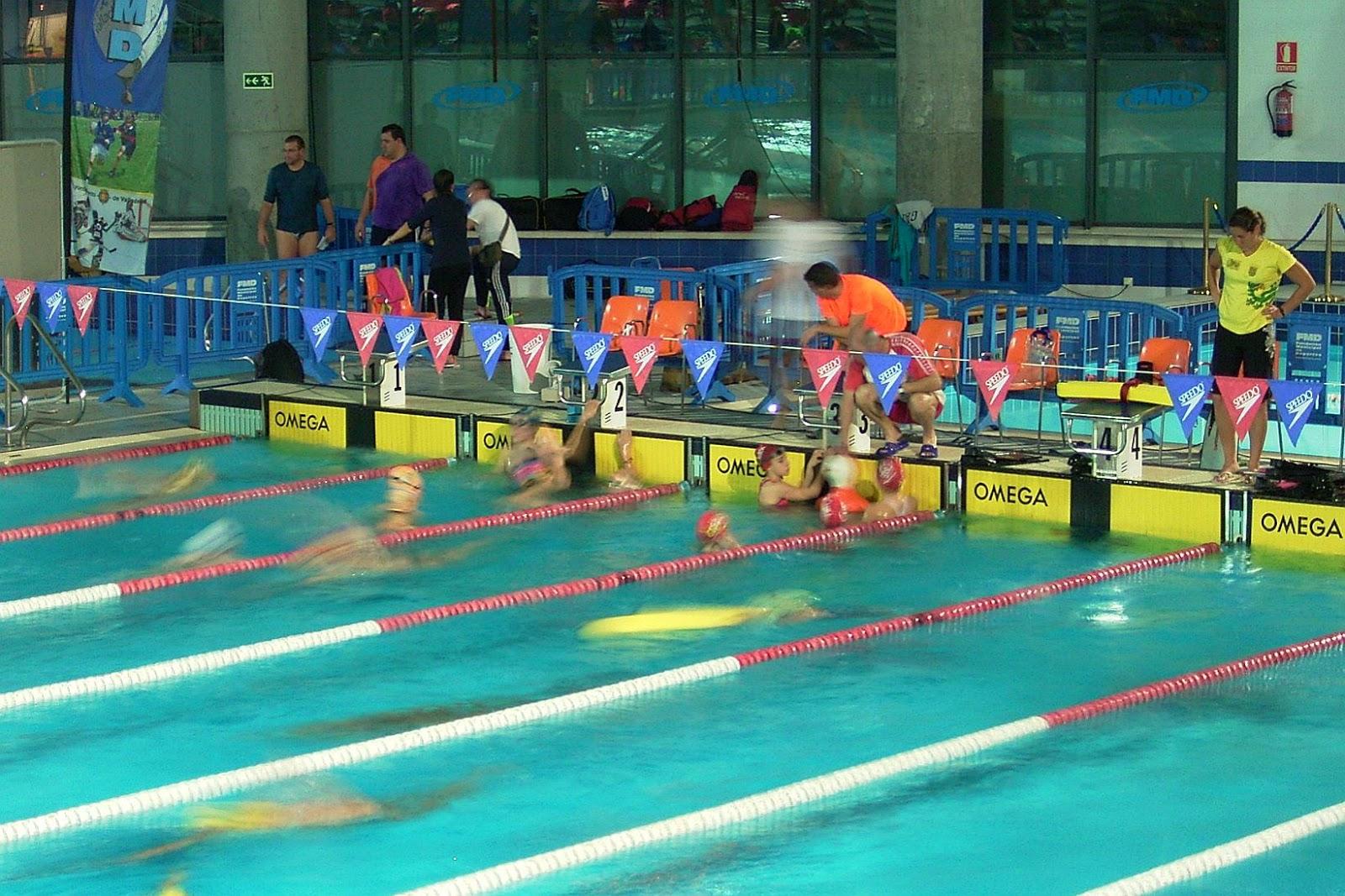 Club nataci n bajo arag n resultados del campeonato de for Piscina parquesol