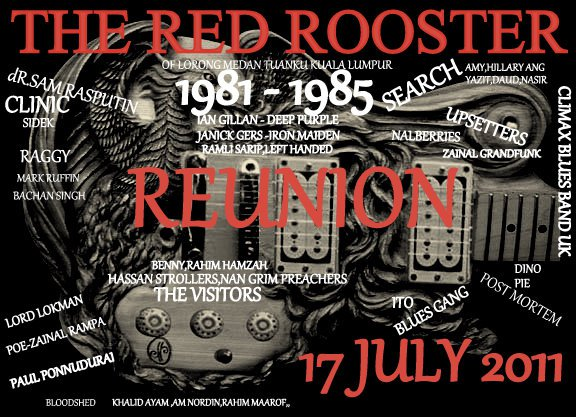 Event The Red Rooster Reunion 1981-1985