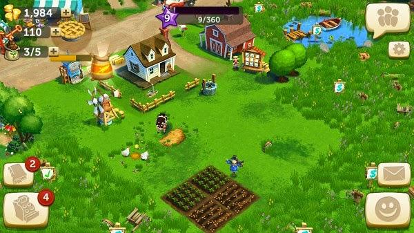 Bertenak dan bertani menyenangkan dengan game Hay Day