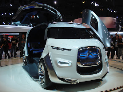 Citroen Tubik concept at the 2012 Paris Motor Show