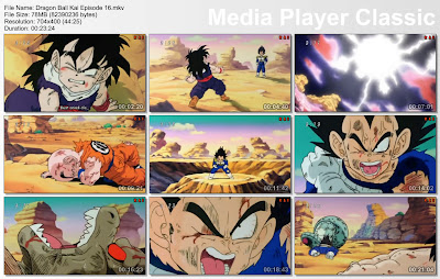 "Download Film / Anime Dragon Ball Kai Episode 16 ""Kekalahan Si Vegeta! Perubahan Dari Son Gohan"" Bahasa Indonesia"