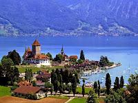 Danau Thun Swiss