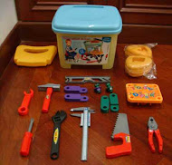 New 3 in 1 Tools Games Set,Stool & Storage,Super Deal!!! RM38 only!!!
