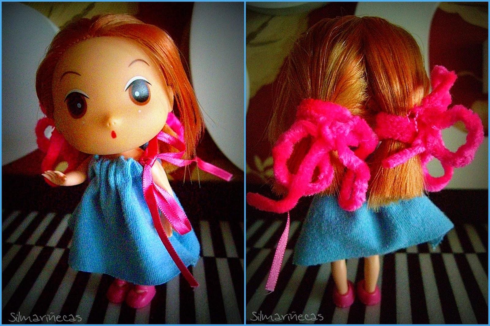 cómo hacer un vestido fácil para muñecas
