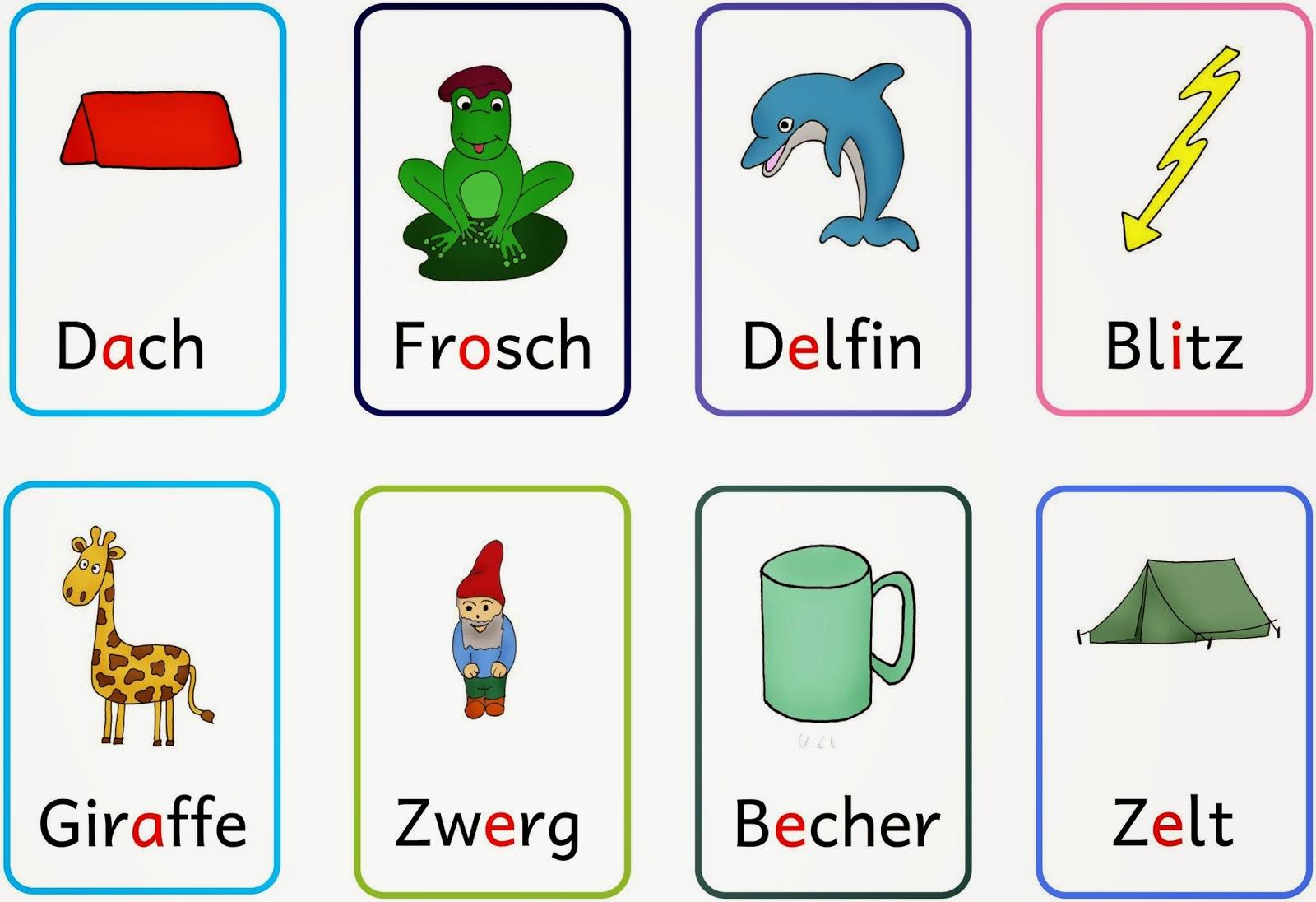 Lernstübchen: lange Vokale - kurze Vokale