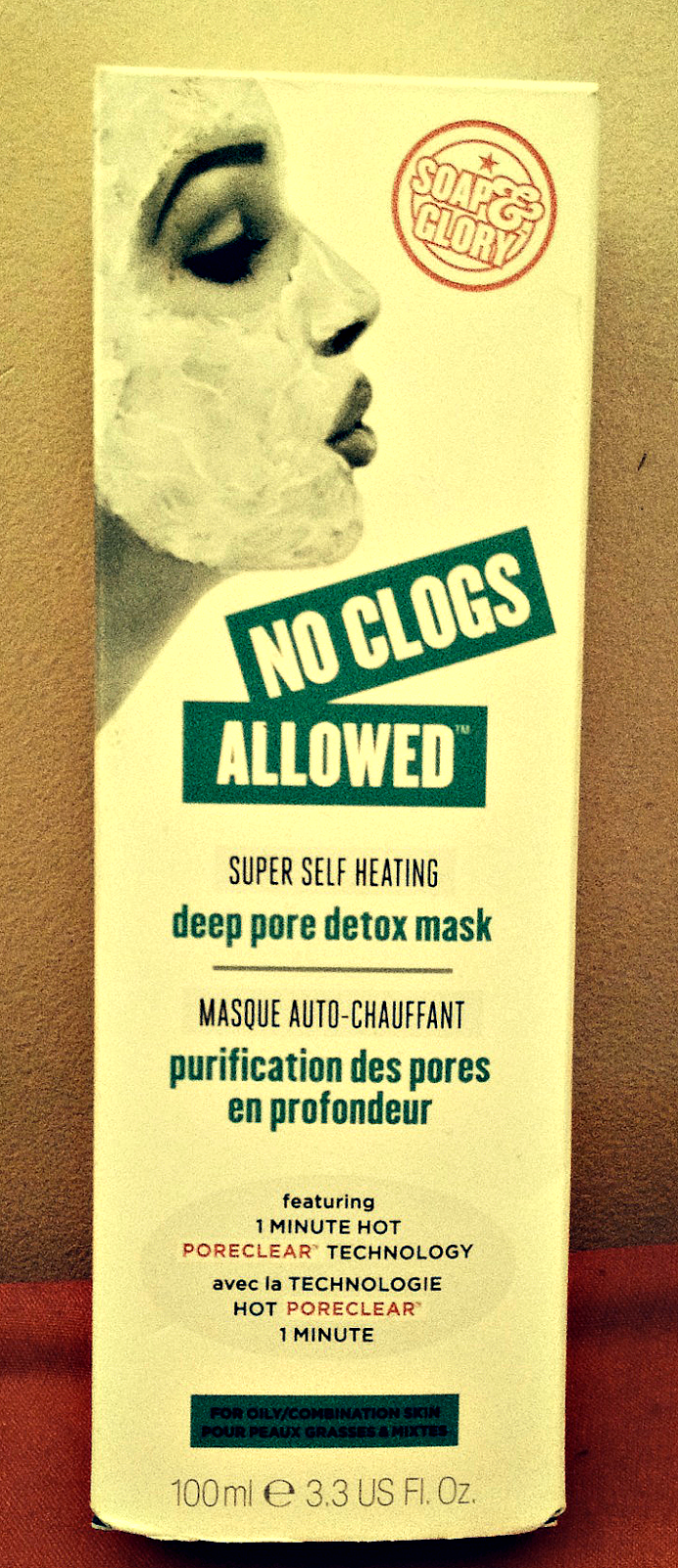 soap glory no clogs allowed