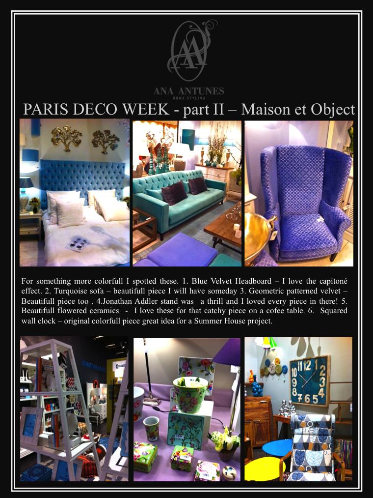 Home styling ana antunes paris deco week part i for Maison et deco paris