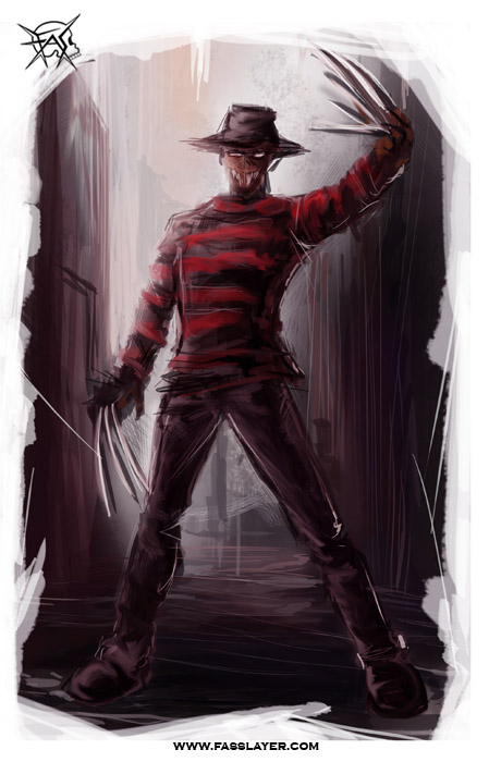 freddy kruegger fan art