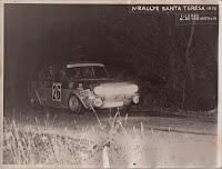 Simca Rallye - IV Rally Santa Teresa 1976