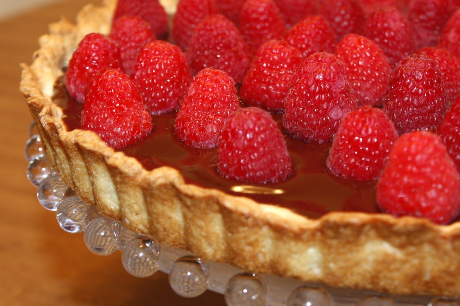 the everyday CRUMBS: Raspberry Chocolate Tart