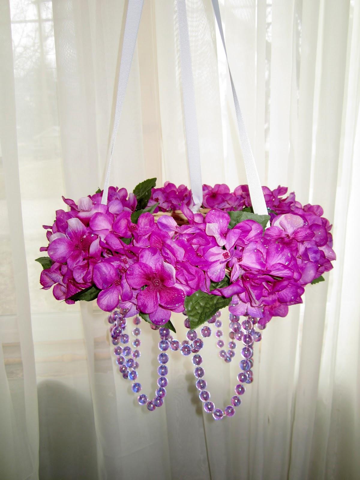 Mama nibbles cheap dollar tree spring floral chandelier craft cheap dollar tree spring floral chandelier craft instructional izmirmasajfo