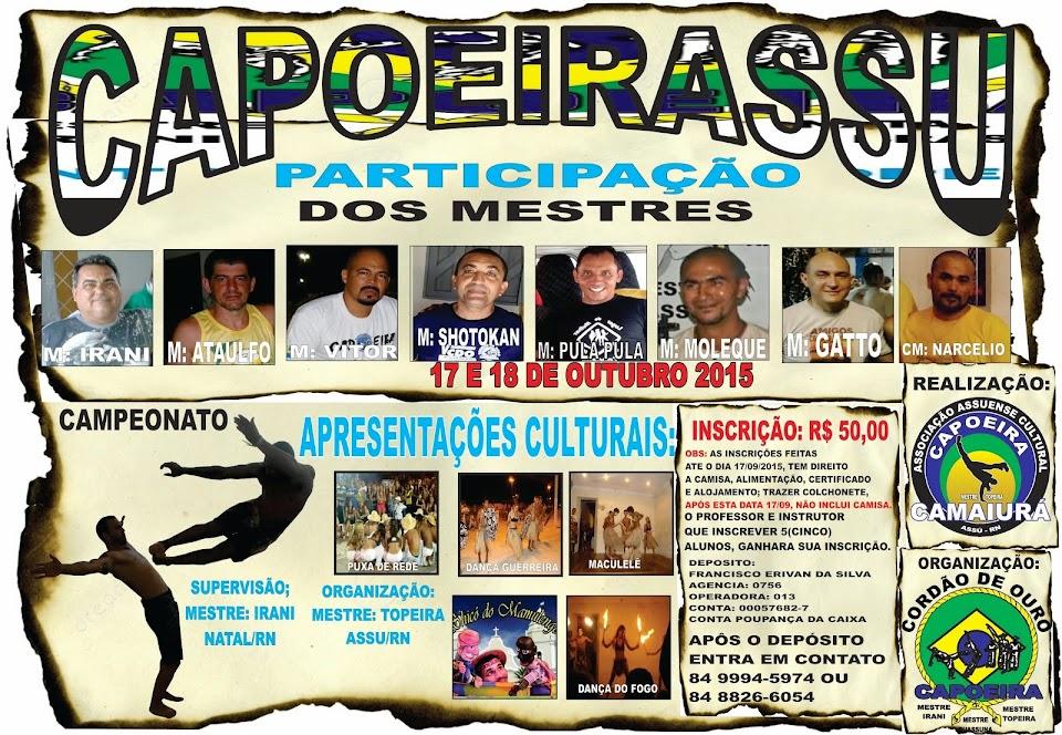 Capoeira Camaiurá Mestre: Topeira CDO