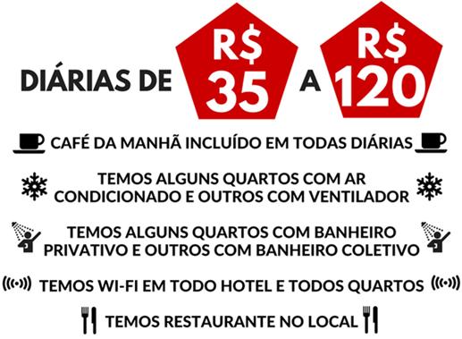 HOTEL - POUSADA NA CIDADE DE MORROS - MARANHÃO