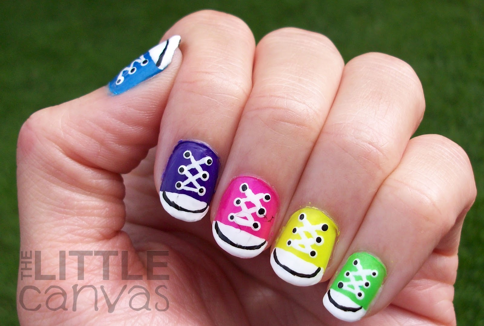 Converse Nails Very Cool Nails Pinterest Converse Nails