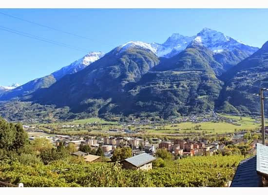 aosta valley vineyards and wine